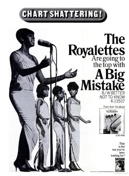 Billboard-Ad-The-Royalettes-1966