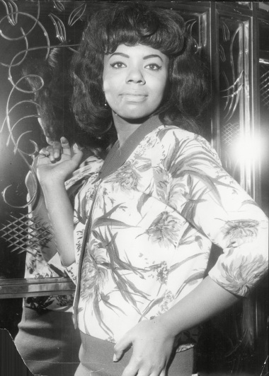 Mary Wells American Singer 1964.