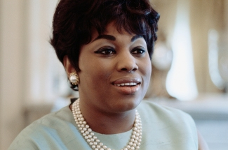 Opera Singer and Soprano Leontyne Price