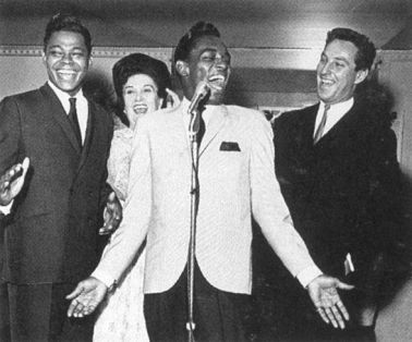 Luther Dixon _ Florence Greenberg _ Chuck Jackson _ Marvin Schlacter